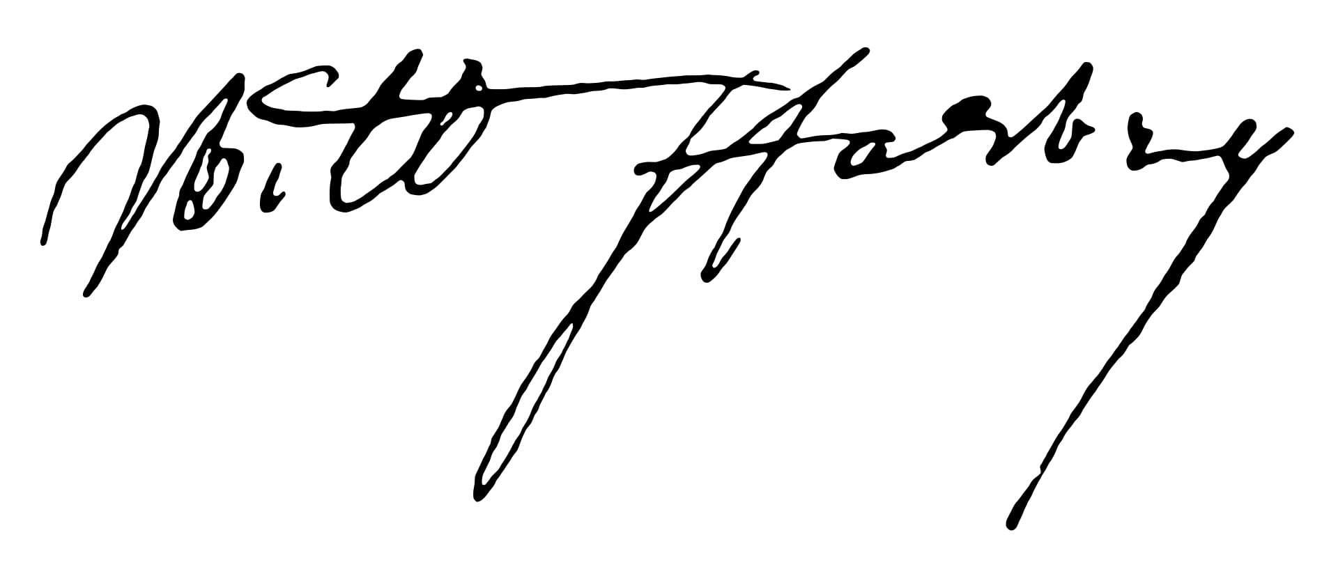 William Harvey Signature