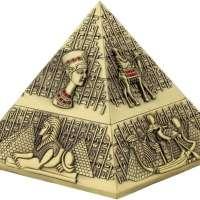 Ancient Egypt Pyramid Sculpture