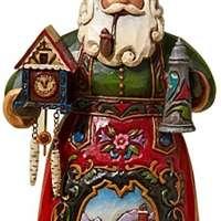 German Santa Hanging Ornament