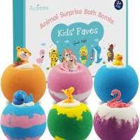 Aofmee Bath Bombs for Kids