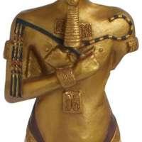 Statue of Egyptian Pharaoh Akhenaton
