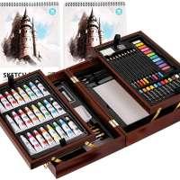 Art Set in Exquisite Wood Box