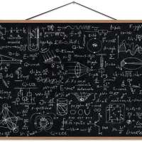 Calculations in Physics Magnet Print Posters for Wall