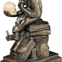 Darwin's Ape Human Evolution Figurine