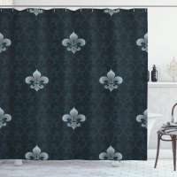 Ambesonne Fleur De Lis Shower Curtain