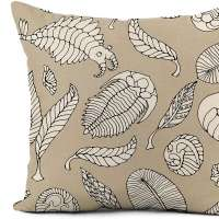 Awowee Flax Throw Pillow Cover