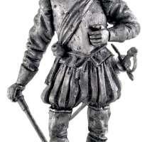 Spanish Conquistador Miniature Figurine