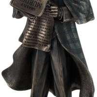 Sherlock Holmes Metallic Bronze Statue