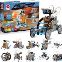 12-in-1 Solar Robot Toys