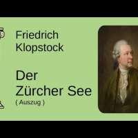 Friedrich Gottlieb Klopstock // Der Zürchersee