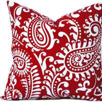 Dutch Red Pillow Cover