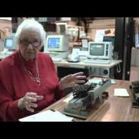 Bubbles Whiting - Using Punch Cards - Hollerith and IBM