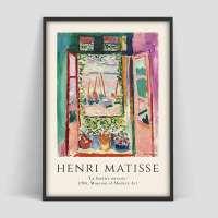 Henri Matisse Das offene Fenster Poster