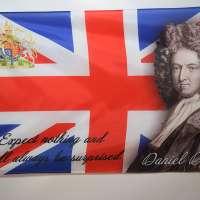 Daniel Defoe Great Britain Flag