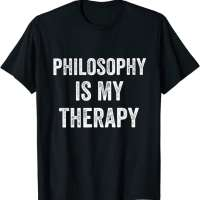 Philosophy Is My Therapy T-Shirt
