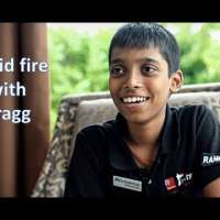 Know your future champions: Rapid fire with R. Praggnanandhaa