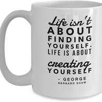 George Bernard Shaw Quote Coffee Mug