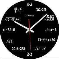 Adalene Math Clock