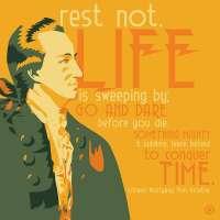 Johann Wolfgang Von Goethe Poster Print