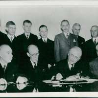 John Maynard Keynes Vintage Photo