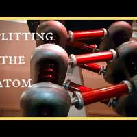 Splitting the Atom with One Million Volt Particle Accelerator 1937