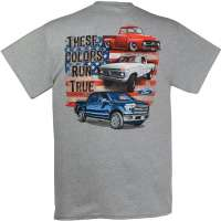Ford 100th Anniversary Red White Blue T-Shirt