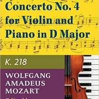 Mozart W.A. Concerto No. 4 in D Major K. 218 by Joseph Joachim