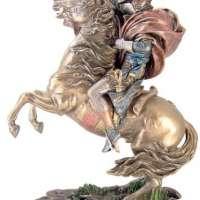 Napoleon Bonaparte on Horse Bronze Statue