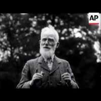 George Bernard Shaw's first appearance in America - 1933