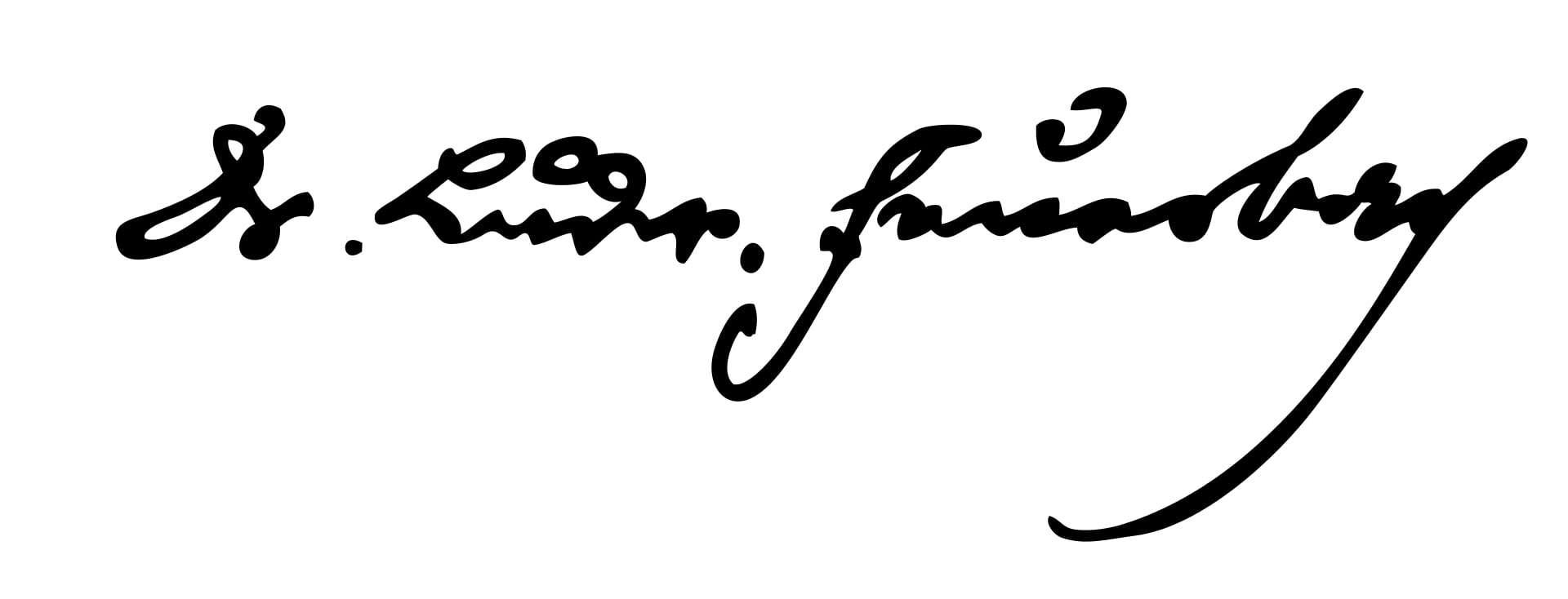 Ludwig Feuerbach Signature