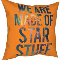 We are Made of Star Stuff - Carl Sagan Quote Tank Top Pillow Case
