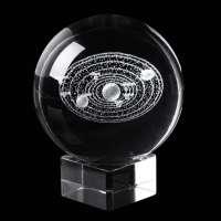 XinTX 2.3 Inch Solar System Crystal Ball