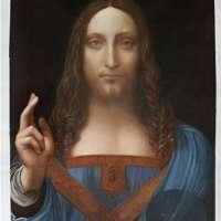 Salvator Mundi - Leonardo da Vinci high quality hand-painted