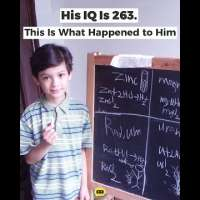 His IQ Is 263. This Is What Happened to Him