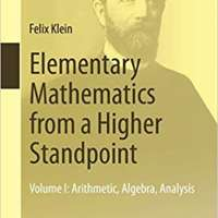 Elementary Mathematics from a Higher Standpoint: Volume I