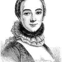Gabrielle-Emilie Chatelet Engraving Poster Print
