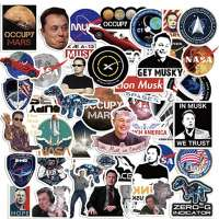 0Pack Space X Stickers Themed Elon Musk Stickers