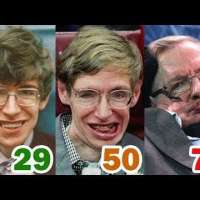 Stephen Hawking Transformation | From 1 To 76 Years Old