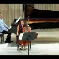 Yoanna Prodanova and Ariel Lanyi play Beethoven Sonata for cello and piano No. 5