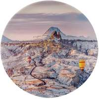 Cappadocia Dinner Plate