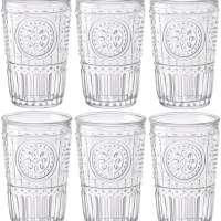 Bormioli Rocco Romantic Water / Juice Tumbler - Box Of 6 Glasses