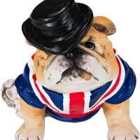 British Bulldog Statue