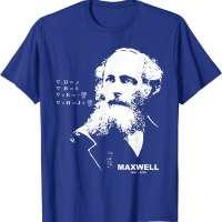 James Clerk Maxwell T-Shirt