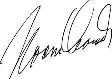 Noam Chomsky Signature