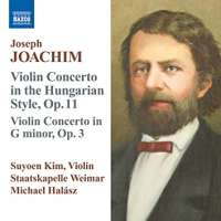 Violin Concertos in Hungarian Style Op 11