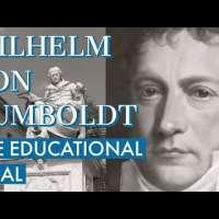On Wilhelm von Humboldt's Education Ideal