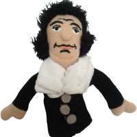 The Unemployed Philosophers Guild Baruch Spinoza Finger Puppet
