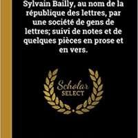 Eloge Historique de Jean Sylvain Bailly