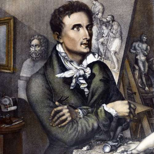 Antonio Canova Portrait