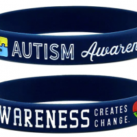 Inkstone Autism Awareness Bracelets, 6-Pack